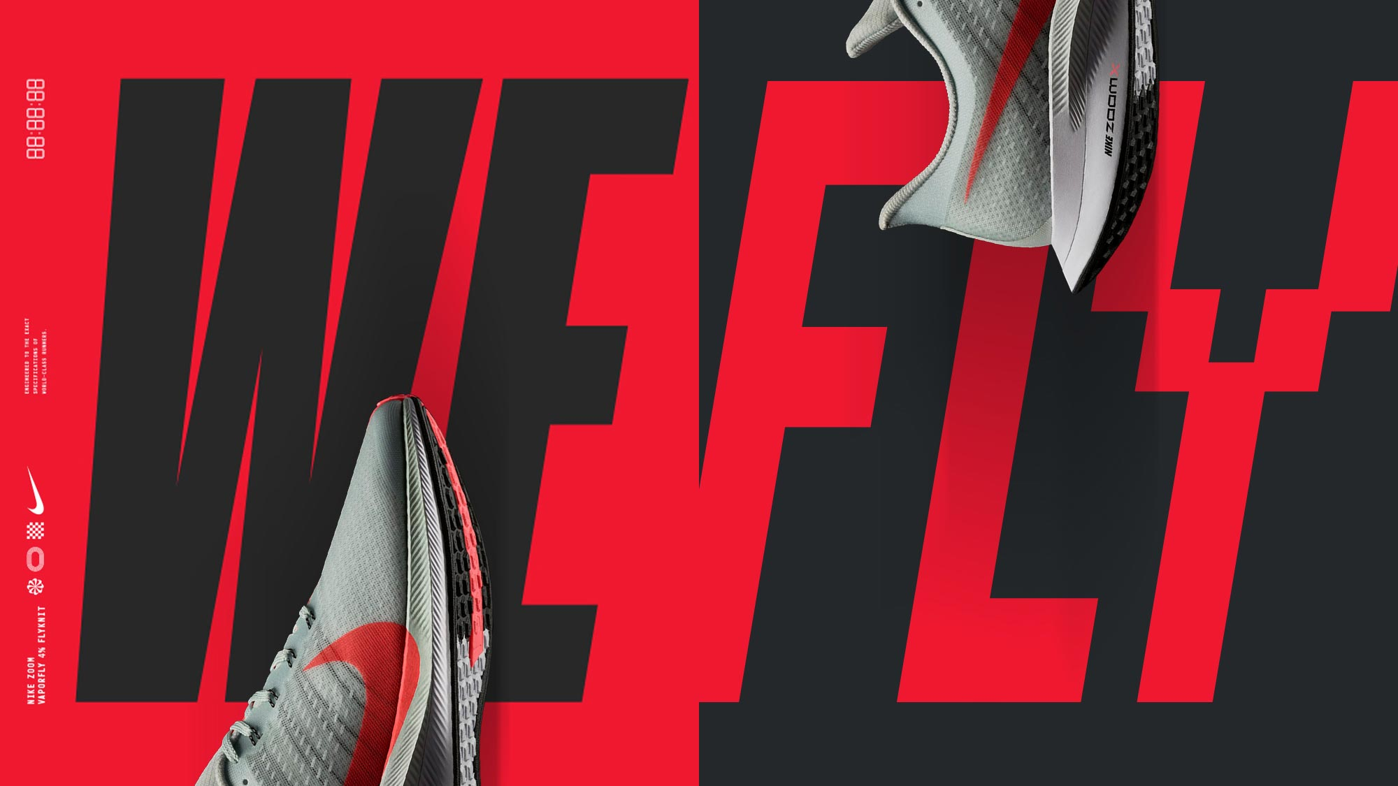 Nike WeFly design with shoes